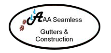 AAA Seamless Gutters & Construction
